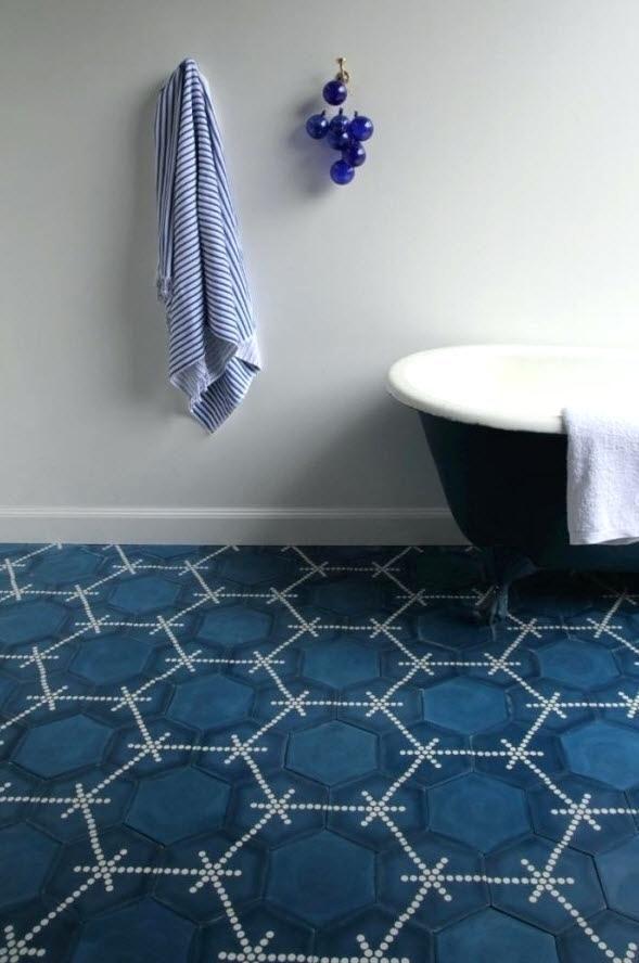 Blue Floor Tile Blue Ceramic Tiles Uk Navy Blue Bathroom Floor Tiles ...