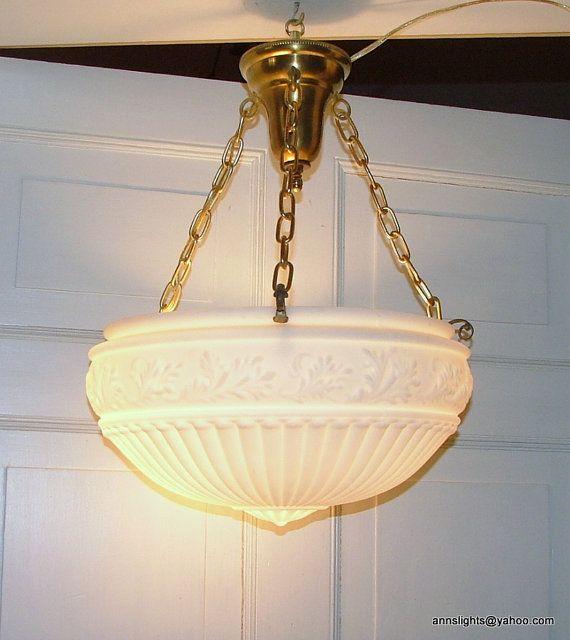 Antique 1920 Ceiling Light Fixtures SF Design | For the Home ...