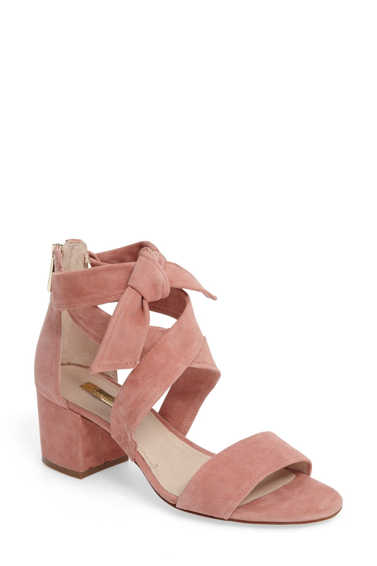Gia Block Heel Sandal (Women) by Louise et Cie on @nordstrom_rack