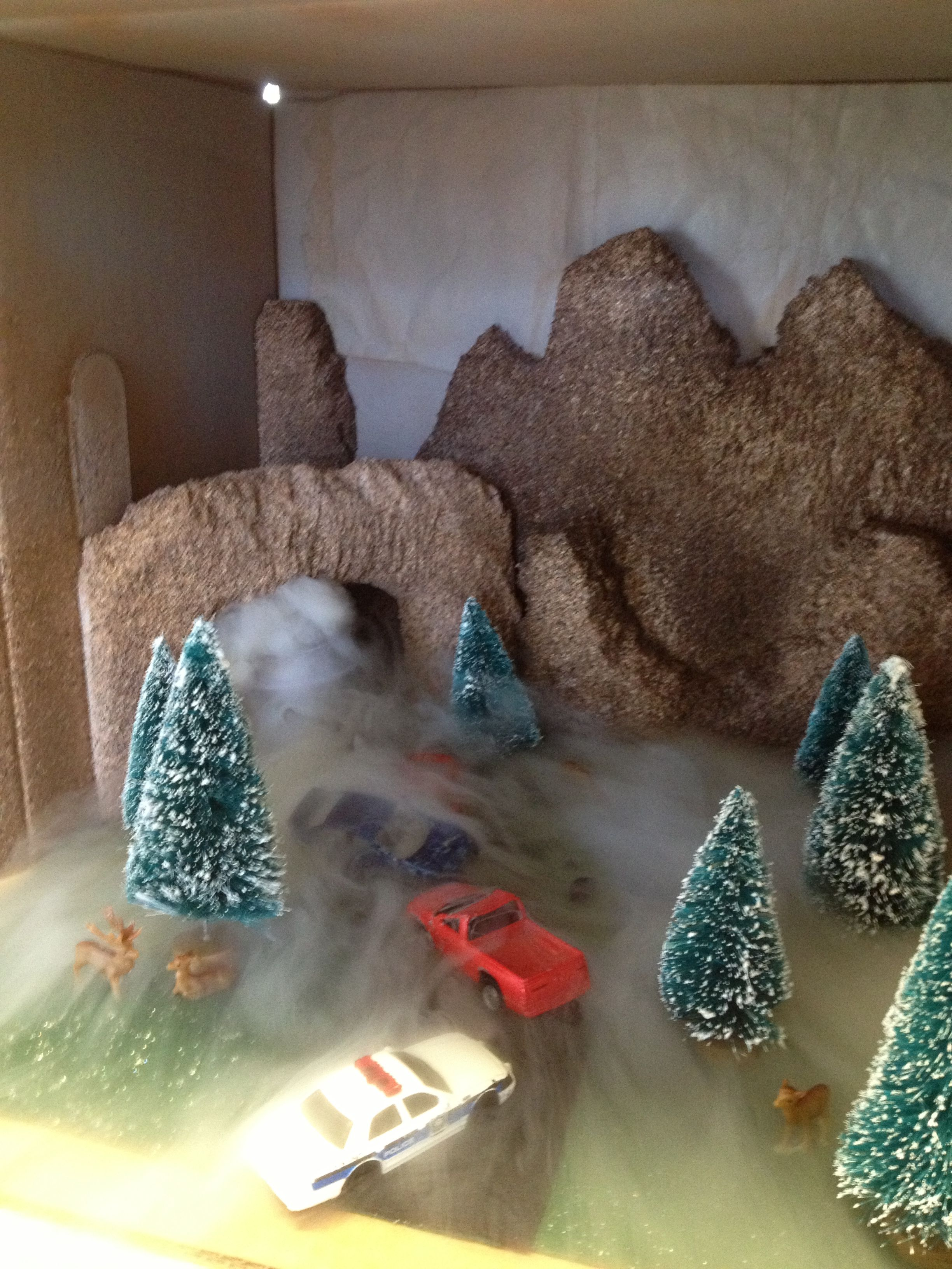 2nd Grade Weather Diorama Fog