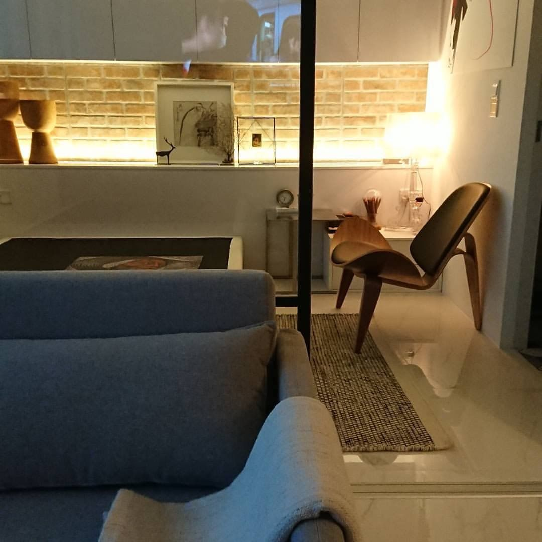 Interior Styling, Furnishing And Lighting In This 2 Room