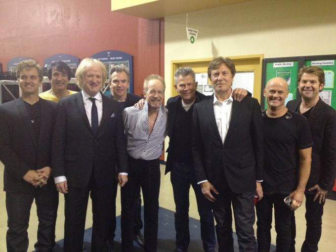Chicago Welcomes Former Producer David Foster Chicago The Band Chicago The Fosters