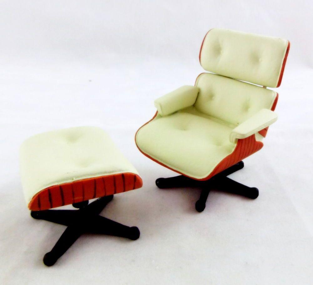 Möbeldesigner puppenhaus miniatur 1 12 maßstab möbel designer lounge stuhl