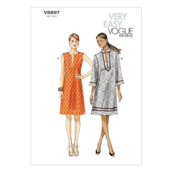 Misses\' Dress-L-XL-XXL Pattern at Joann.com | moldes de ropa | Pinterest