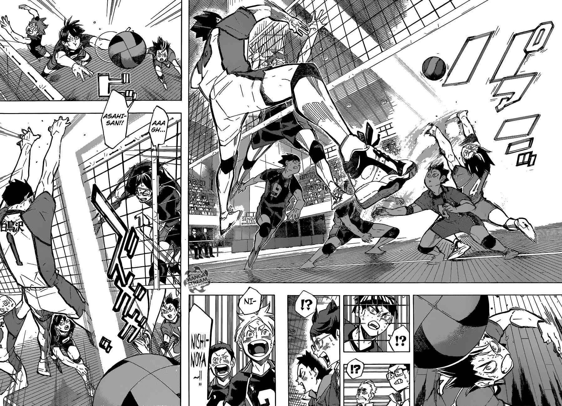 Read Manga Online Free - Haikyuu - Chapter 187 - Page 9 | Nishinoya Yuu | Haikyuu ...