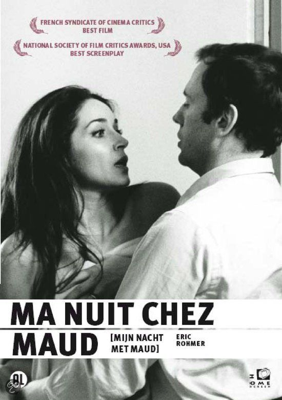 Ma Nuit Chez Maud 1969 Country France Director Eric Rohmer Illustraties Zwart Wit Frans