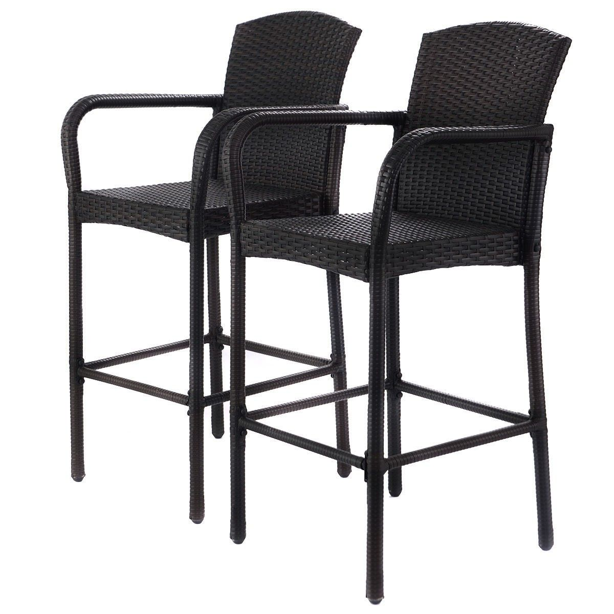high chair that attaches to counter evenflo majestic instruction manual 2 pcs rattan bar stool set chairs household appliances wicker dining patio furniture armrest