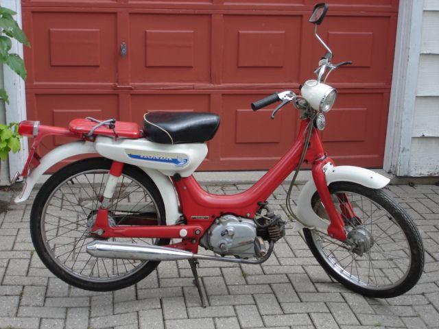 vintage honda moped