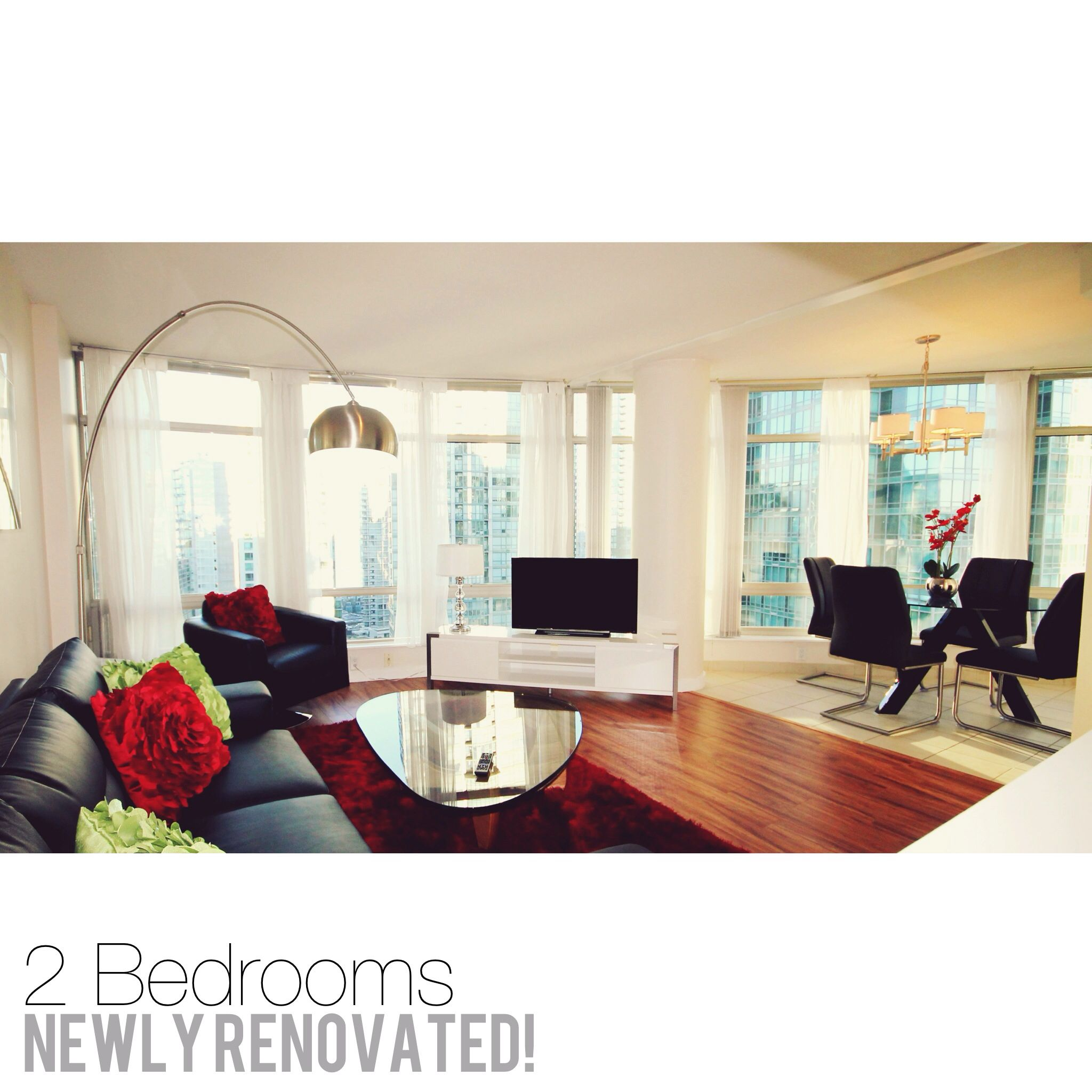 Newly Renovated 2 Bedroom Furnished #apartment At The