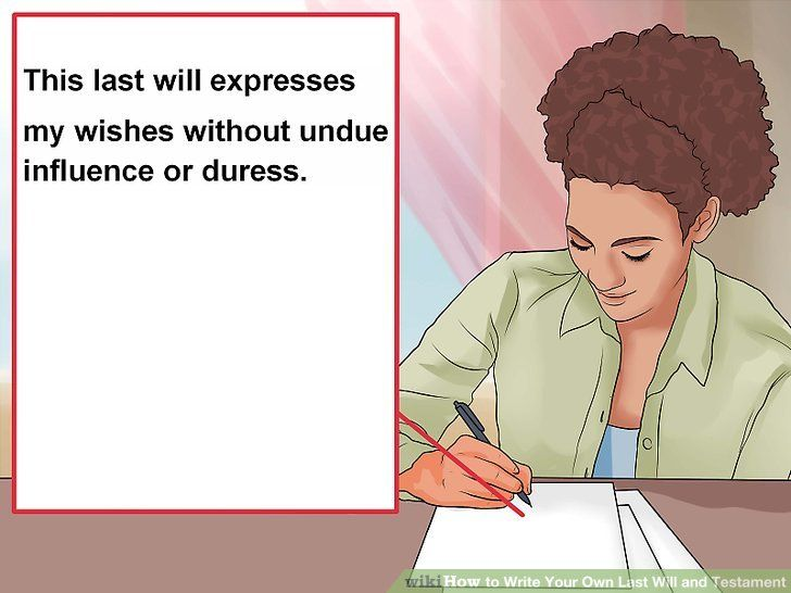 How to Write Your Own Last Will and Testament in 2020