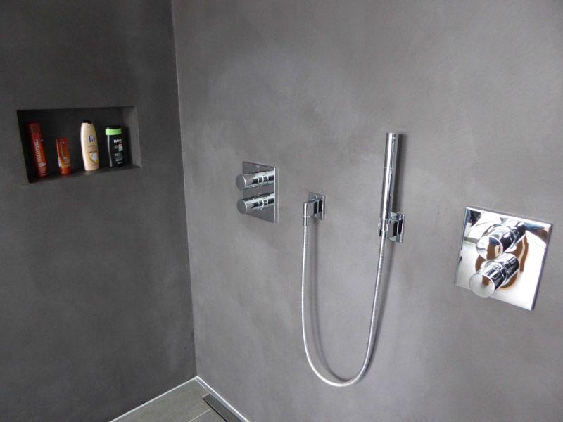 Besten beton cire badkamer bilder auf badezimmer