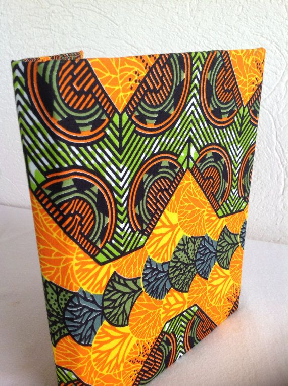 African wax Print Woodin Journal/Notebook by AfroStyleCheck available Afrocentric by Afrostylecheck on Etsy, $23.00