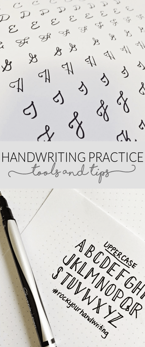 Handwriting Practice and Tools - Free Downloads