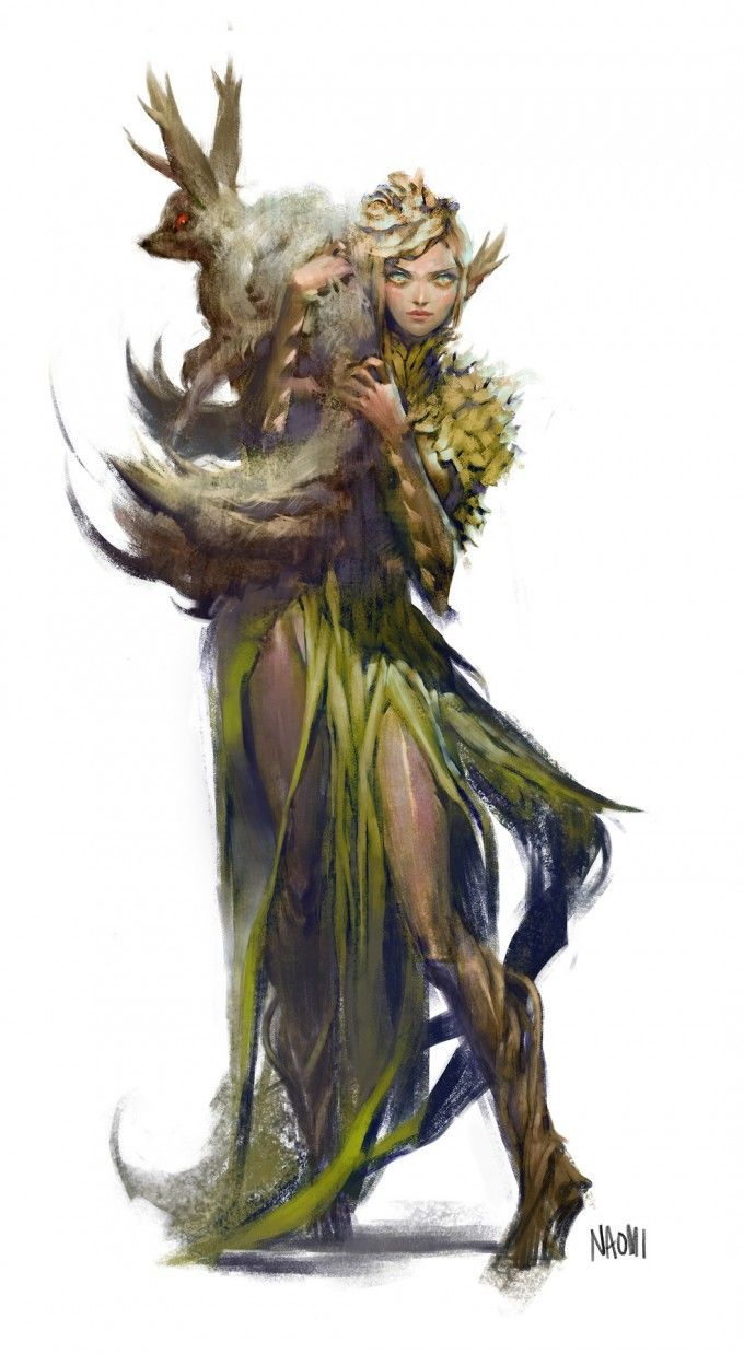 Eladrin Fantasy Art White Hair
