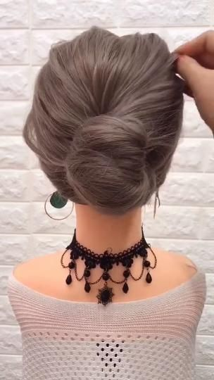 Simple & Quick Hairstyle Tutorial Updos For Long And Medium Length Hairs Step By Step