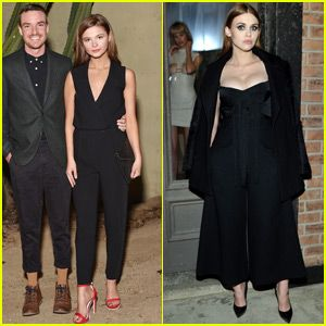 Stefanie Scott & Holland Roden Step Out in Style!...
