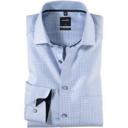 Photo of Olymp Luxor skjorte, moderne passform, ekstra lang arm, bleu, 37 olympymp