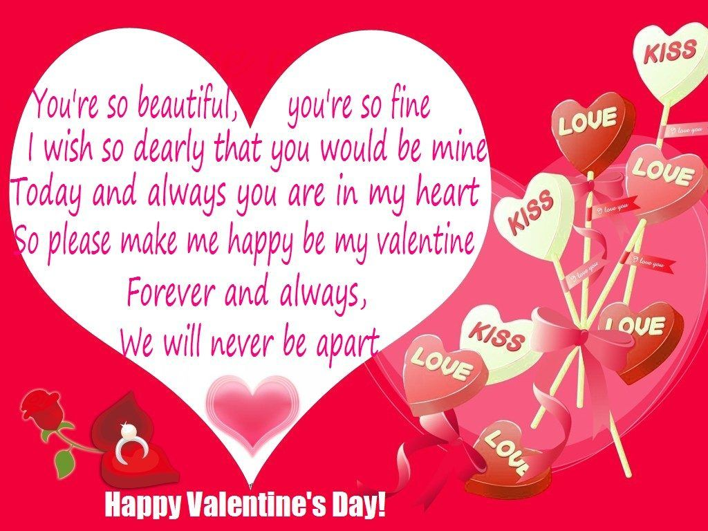 Romantic Valentines Day Quotes For Her Valentine Day Pinterest