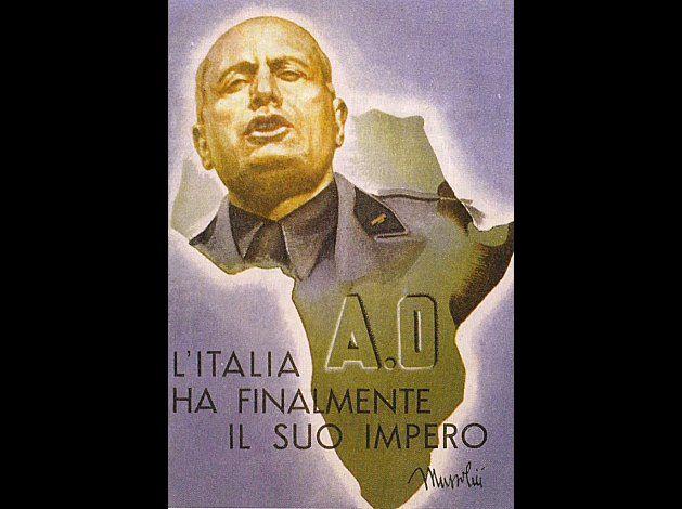 "1936 Cartolina postale Etiopia / 1936 postcard Ethiopia - ""Italy finally has its Empire"""