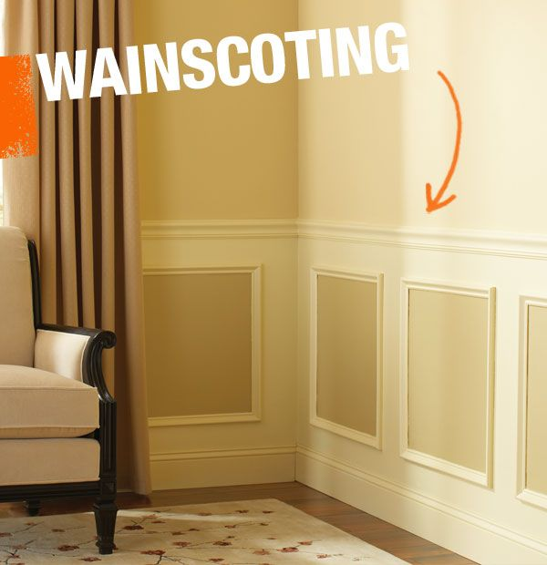 Wainscoting is a term applied to any kind of decorative wood ...