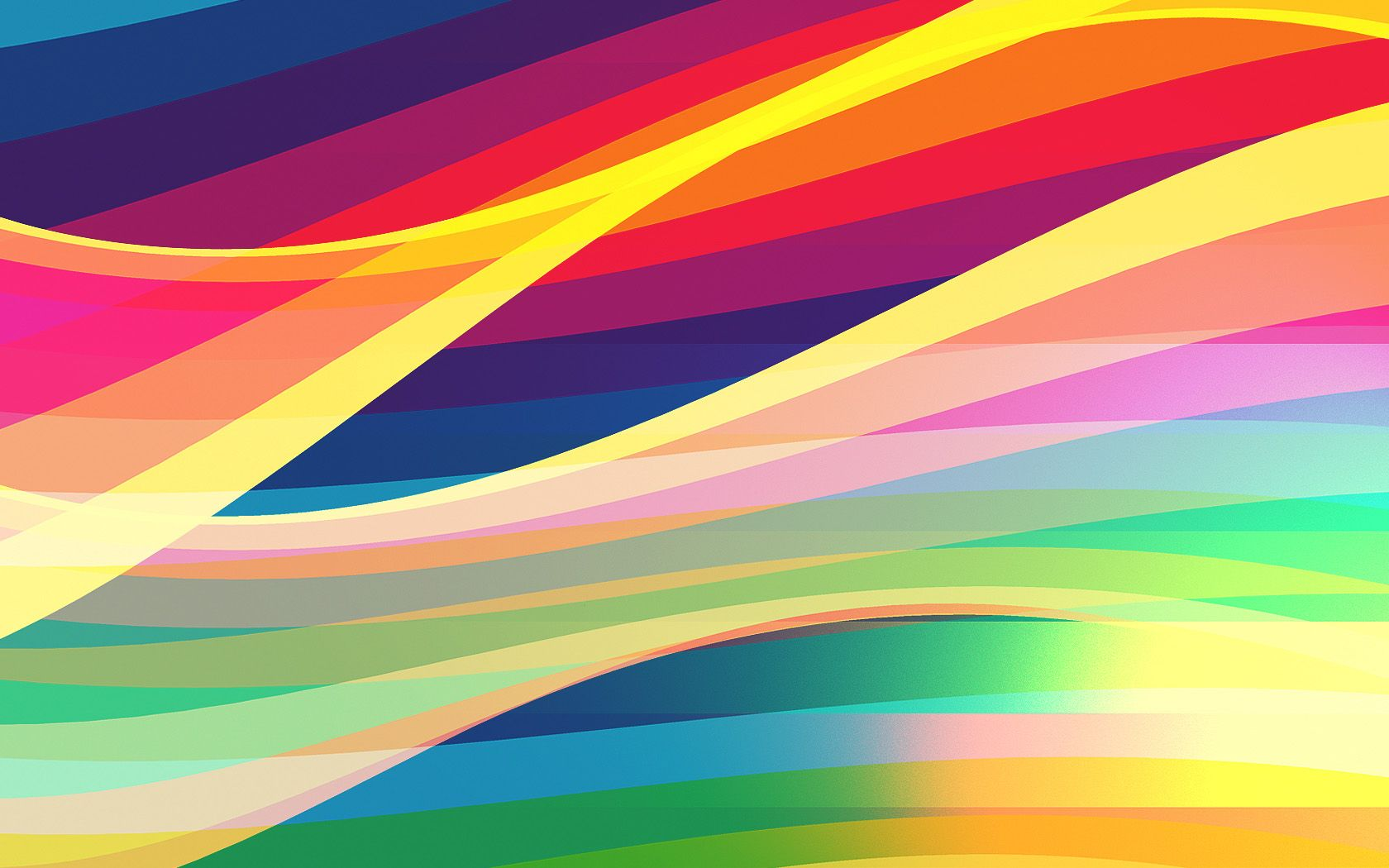 Prism Girl FWA Inspired Abstract Wallpaper