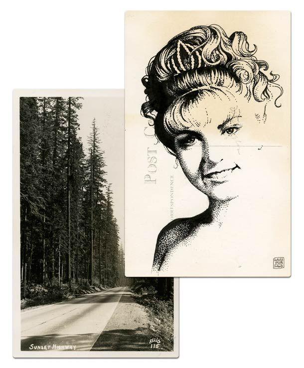 Twin Peaks Postcards – Tribute to David Lynch