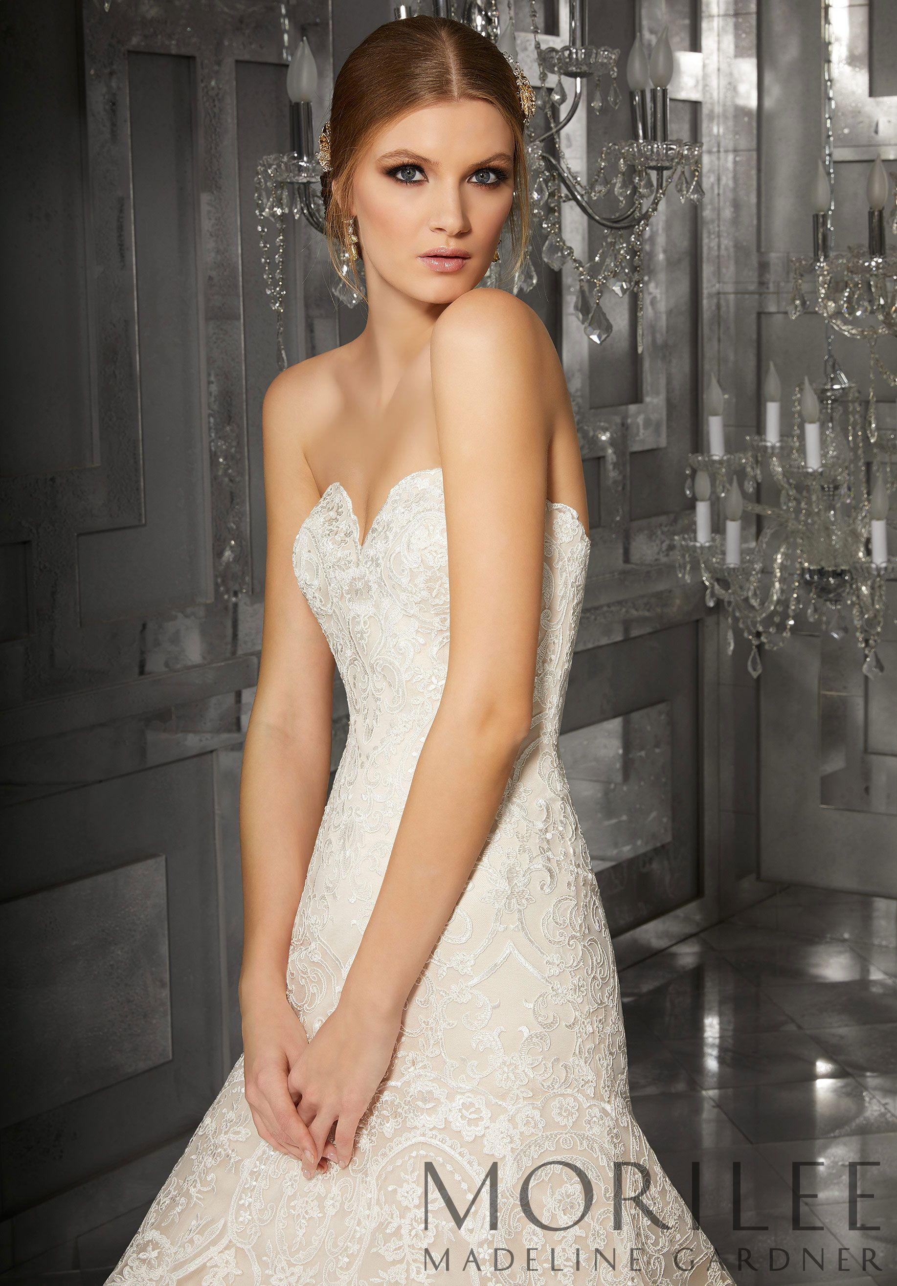 Mori lee madeline gardner wedding dress  Morilee  Madeline Gardner Monroe Wedding Dress Romantic and