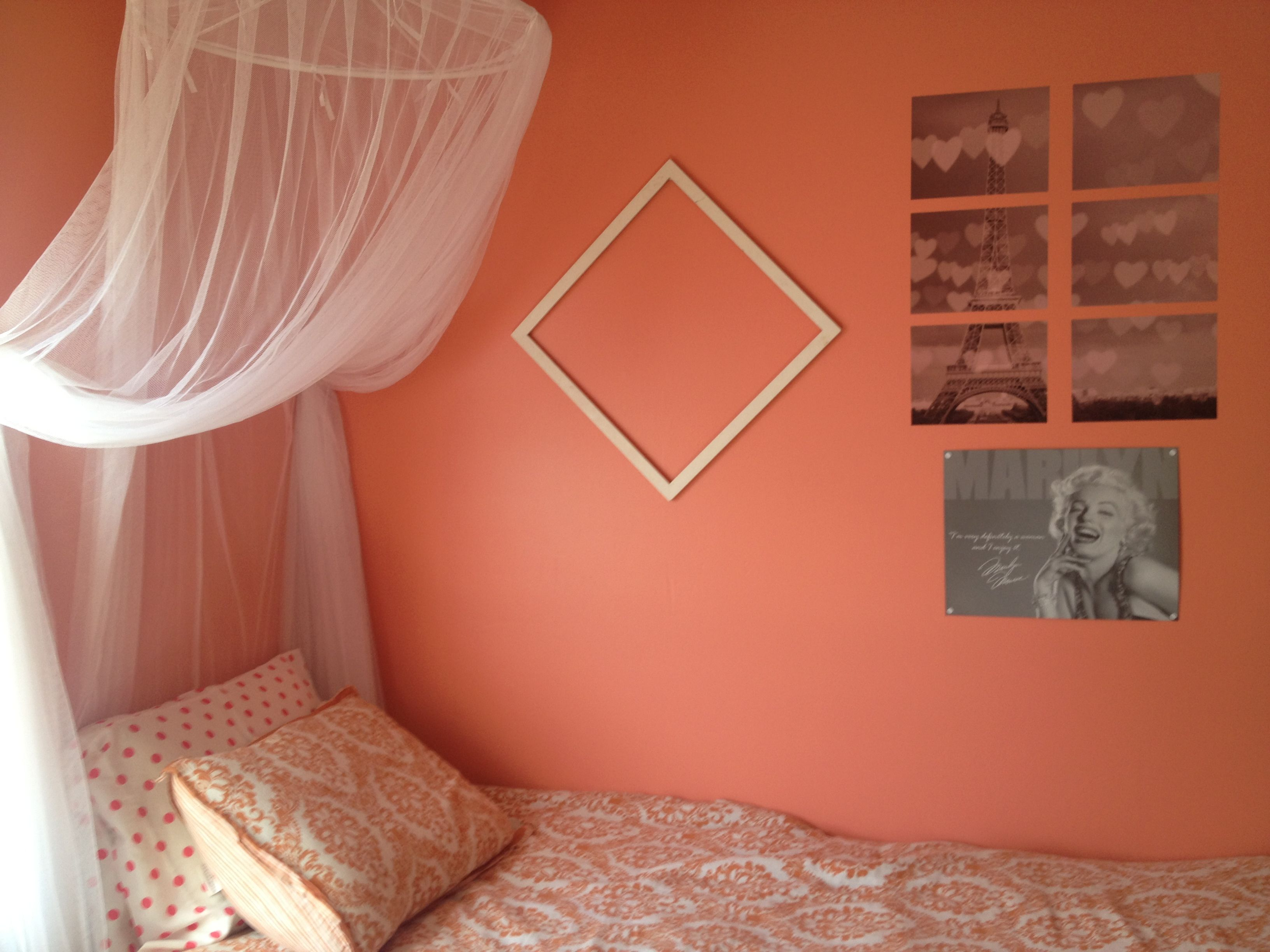 Coral Painted Rooms My Room 3 Sherwin Williams Ravishing Coral Paint And
