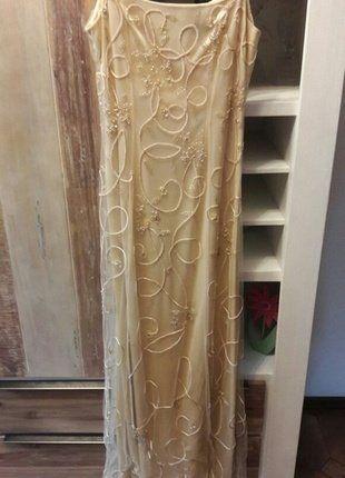 Kaufe meinen Artikel bei #Kleiderkreisel http://www.kleiderkreisel.de/damenmode/kleider-abendkleider/147855638-wunderschones-abendkleid-mit-vielen-pailletten-tull-ornamenten-tullkleid