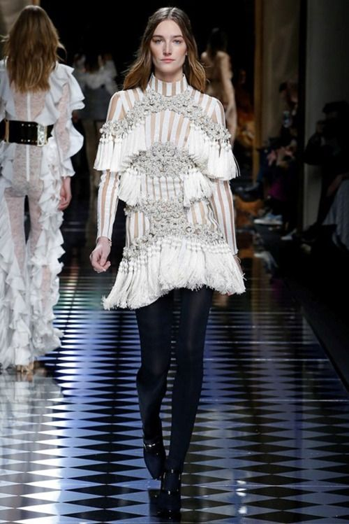 , Josephine le Tutour at Balmain FW16   – Daily Fashion and Style Inspo – beautiful models and runway shows – casual street fashion – clothing for the m…, My Pop Star Kda Blog, My Pop Star Kda Blog