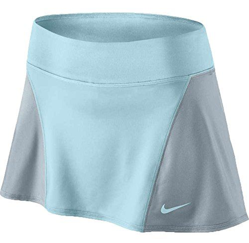 Nike Womens Tennis Flouncy Knit Skort Blue/Grey -- To view further, visit http://www.amazon.com/gp/product/B017OCCRX4/?tag=ilikeboutique09-20?rw=040716191445