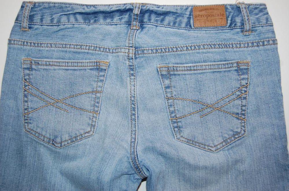 Aeropostale Chelsea Bootcut Juniors Womens Size 5 / 6 R Denim Jeans since 1987 #Aropostale #StraightLeg