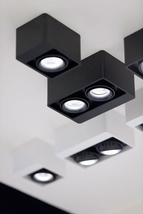 BOXTER LED, Interior Ceiling Surface mounted spots by Delta Light ...