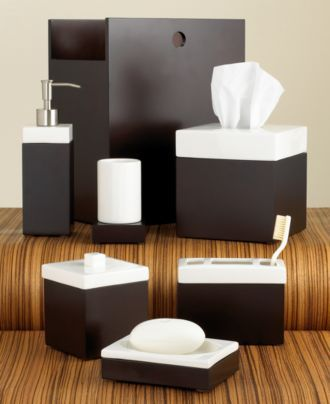 Hotel Collection Hammered Metal Bath Accessories Collection