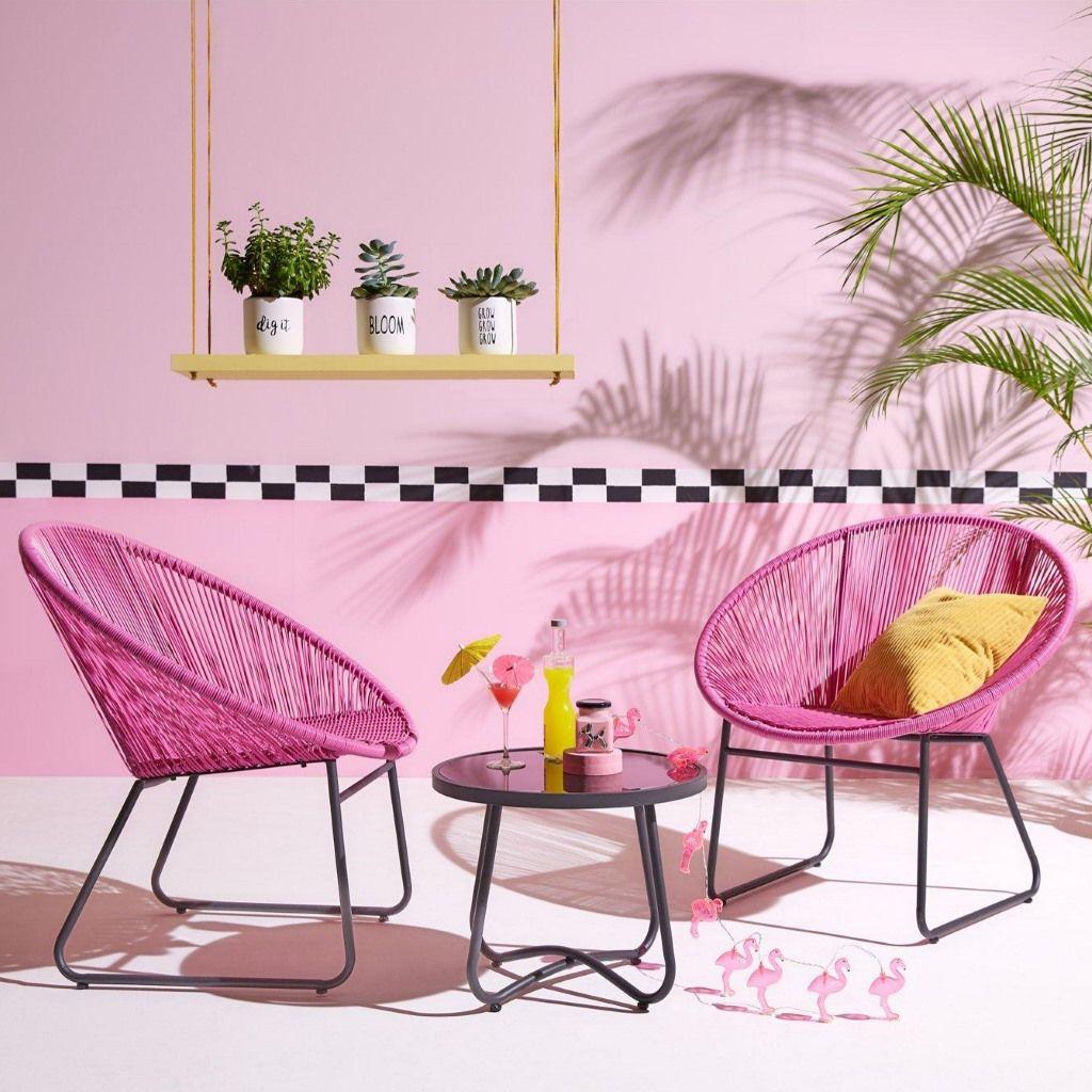 Plum coloured garden chairs  Furniture, Outdoor garden furniture