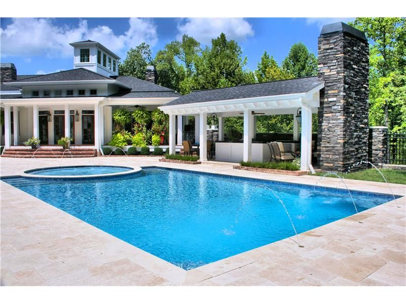 Pool Bauer pools photo gallery stuart bauer pools and spas inc louisville ky