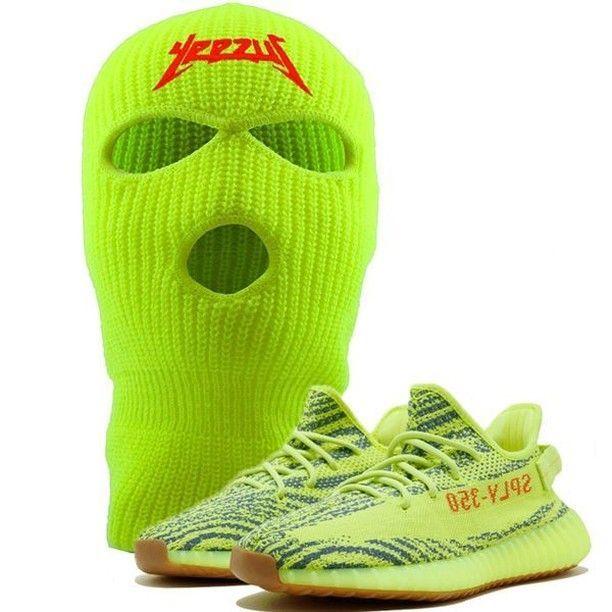 199a02bd350ee Frozen Yellow Yeezy 350 Boost Sneaker Matching Kanye Yeezus ...