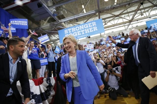 Sanders endorses former rival Clinton