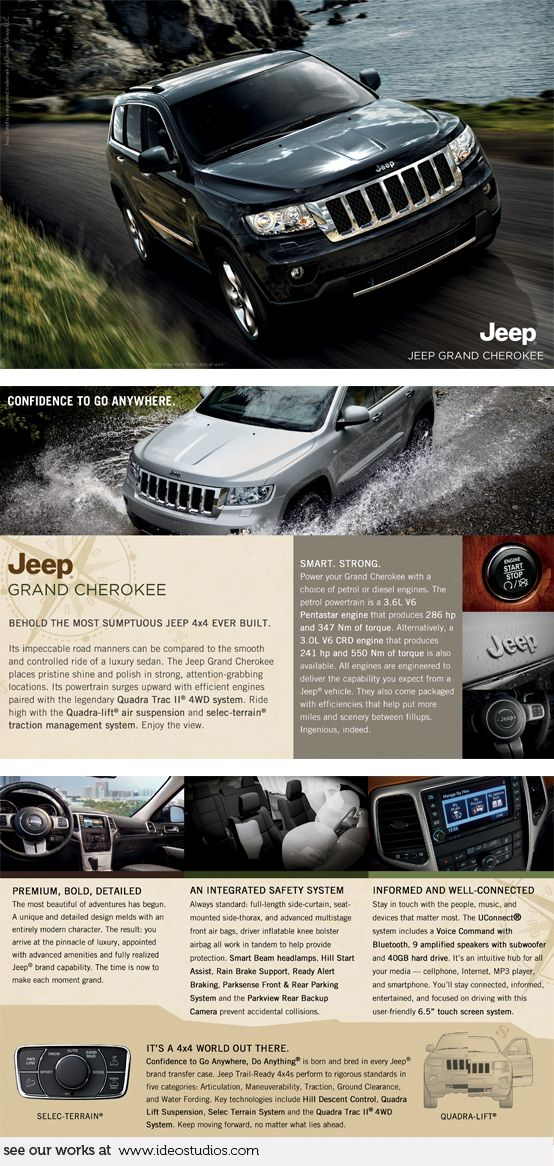 Brochure By Ideo Studios Client Jeep Graphicdesign Layout