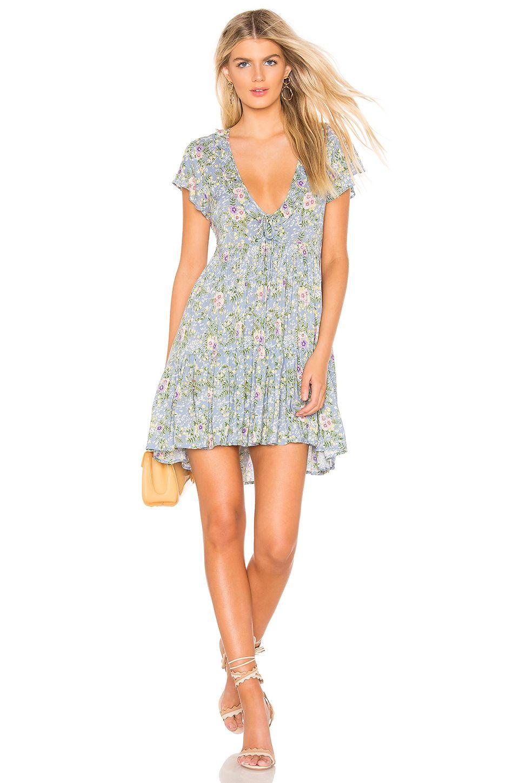 93c51f49a1 AUGUSTE Ophelia Matilda Babydoll Mini Dress