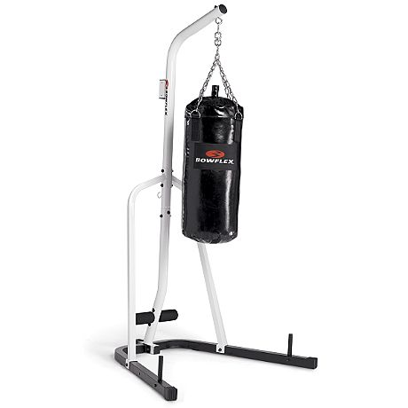 The Bowflex heavy-bag stand is made of heavy duty steel construction and includes 3 weight plate ...  sc 1 st  Pinterest & Pair this heavy bag stand with a Bowflex Water-filled Heavy Bag and ...