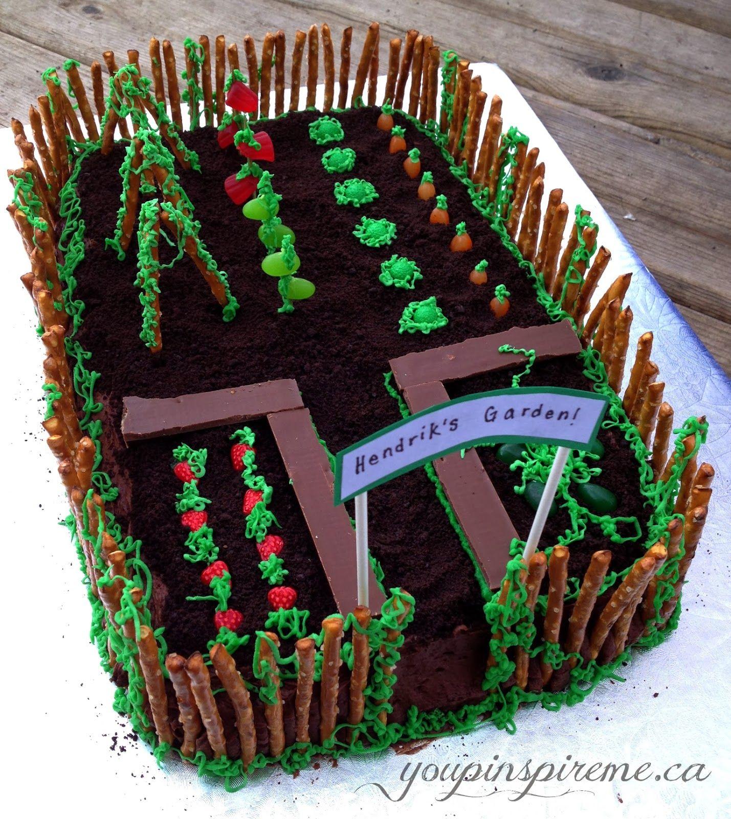 Garden Design Birthday Cake you pinspire me .: garden theme birthday cake | theme parties