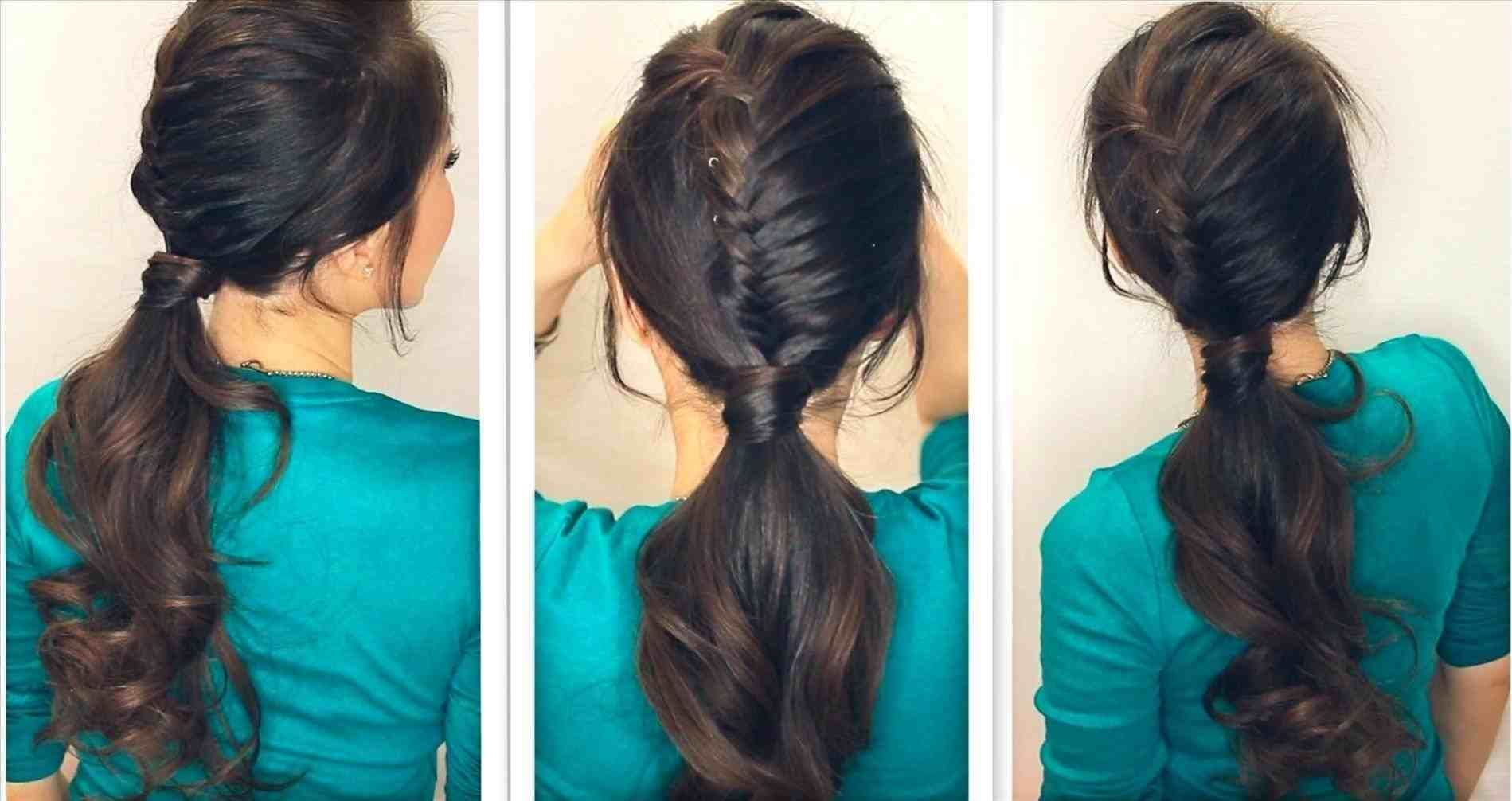 Easy simple hairstyles step by step for medium hair lazy hairstyles