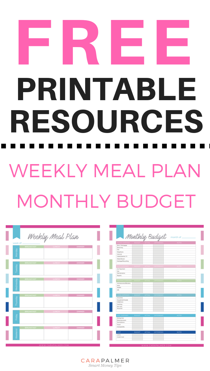 10 free budget printables that ll help you get your money under
