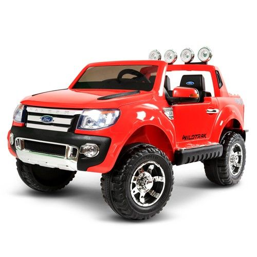 Childs Ride On Car Electric Ute With Remote Music Battery Licensed Ford Ranger Kids Ride On Toys Kids Ride On Ford Ranger