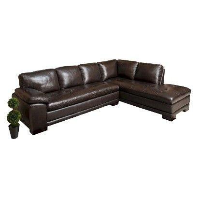 Abbyson Living Prescott Sectional Sofa Leather Sectional Sectional Sofa Leather Sectional Sofa