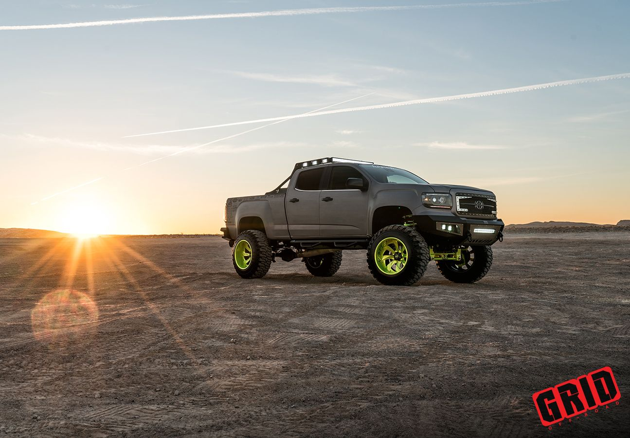 Royalty core gmc canyon on grid off road wheels yay or nay https