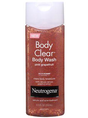 Neutrogena Body Clear Body Wash Pink Grapefruit Neutrogena Body