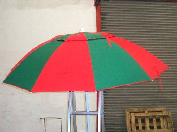 This Racecourse Bookmakers Umbrella Has Been Specifically Designed