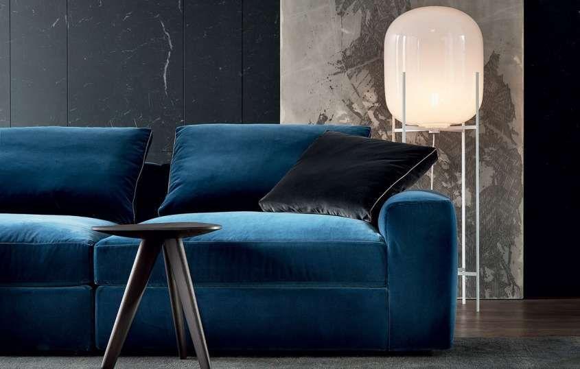 Divano Velluto ~ Poliform divani divano blu elettrico blu elettrico